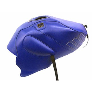 Bagster Tank cover RSV MILLE R / RSV MILLE / 1000 TUONO / 1000 TUONO RACING - blue / steel grey deco