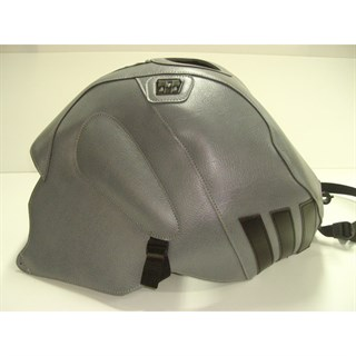 Bagster Tank cover RSV MILLE R / RSV MILLE / 1000 TUONO / 1000 TUONO RACING - steel grey / black