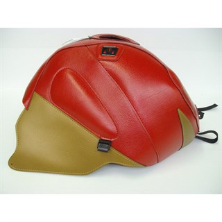 Bagster Tank cover RSV MILLE R / RSV MILLE / 1000 TUONO / 1000 TUONO RACING - red / gold deco