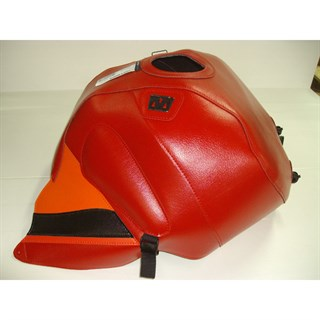 Bagster tank cover RSV MILLE R / RSV MILLE / 1000 TUONO / 1000 TUONO RACING - red / orange deco