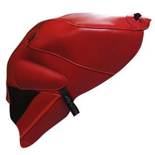 Bagster Tank cover RSV MILLE R / RSV MILLE / 1000 TUONO / 1000 TUONO RACING - red / black deco