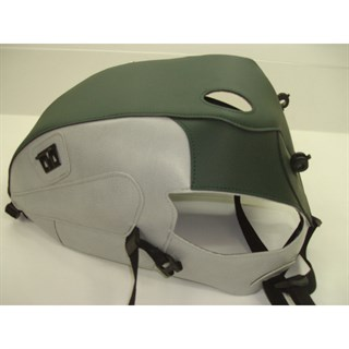 Bagster Tank cover BONNEVILLE 800 / BONNEVILLE 900 / SCRAMBLER / THRUXTON 900 - dark green / light grey