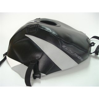 Bagster Tank cover GS 500E - black / light grey stripe