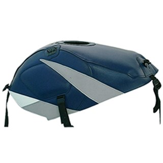 Bagster Tank cover GS 500E - baltic blue / light grey stripe
