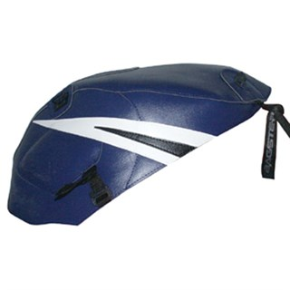 Bagster Tank cover GS 500E - baltic blue / white and black stripe