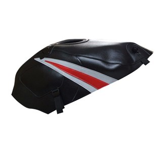 Bagster Tank cover GS 500E - black / light grey and red triangle
