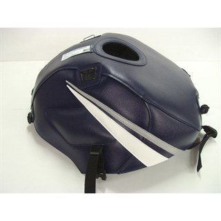 Bagster Tank cover GS 500E - dark blue / light grey / white