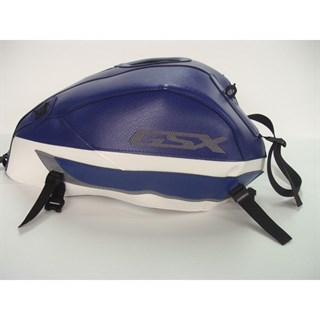 Bagster Tank cover GSX 1400 - baltic blue / white / steel grey