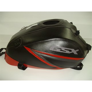 Bagster Tank cover GSX 1400 - black / red / sky grey