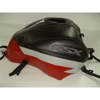 Bagster Tank cover GSX 1400 - black / red / light grey deco