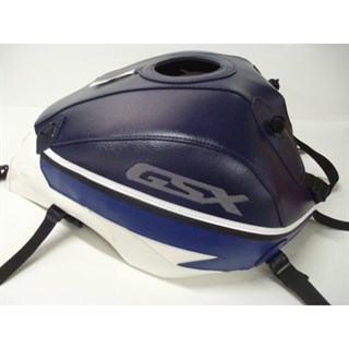 Bagster Tank cover GSX 1400 - dark blue / white / blue