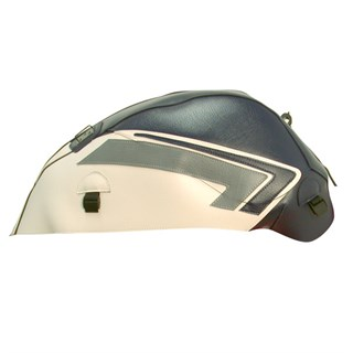 Bagster Tank cover GSX 1400 - dark blue / white / steel grey