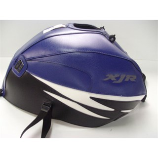 Bagster Tank cover XJR 1300 XJR - baltic blue / black / white deco
