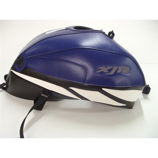 Bagster Tank cover XJR 1300 XJR - baltic blue / black / white triangle