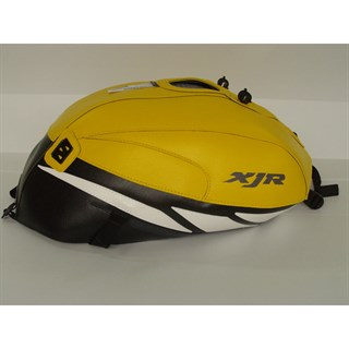 Bagster Tank cover XJR 1300 XJR - surf yellow / black / white triangle