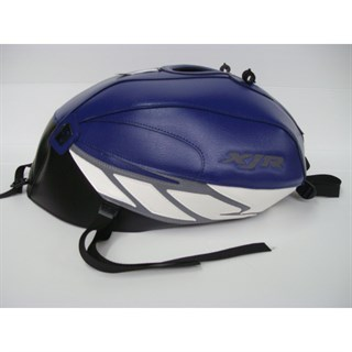 Bagster Tank cover XJR 1300 XJR - baltic blue / black / steel grey / white