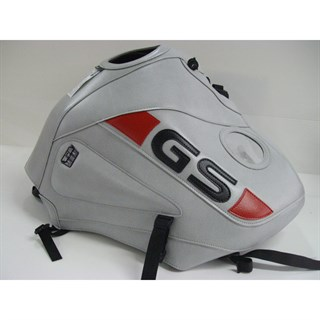 Bagster tank cover R1150 GS ADVENTURE - light grey / red deco