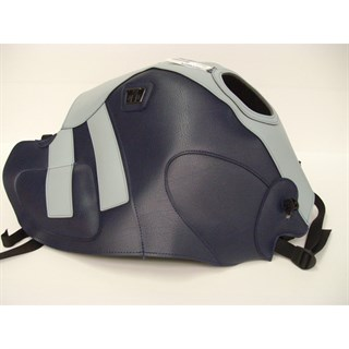 Bagster Tank cover R1150 RS - glacier grey / navy blue