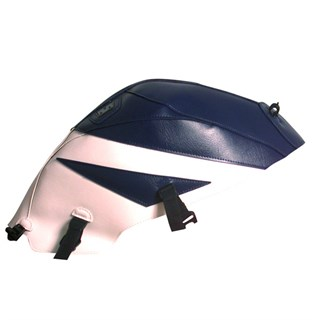 Bagster tank cover SV 650N / SV 650 S / SV 1000 - dark blue / white (20th anniversary)