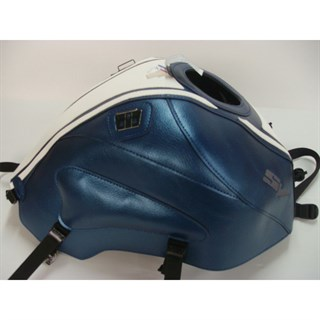 Bagster Tank cover SV 650N / SV650 S / SV 1000 - pearly blue / white