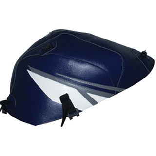 Bagster tank cover YZF R6 - baltic blue / steel grey / white