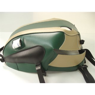 Bagster Tank cover BONNEVILLE T 100 SE - clover green / champagne