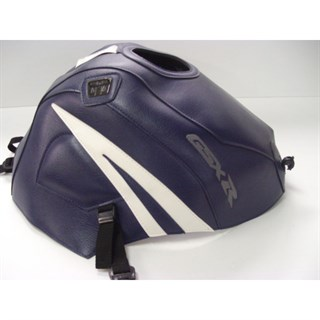 Bagster Tank cover GSX 600R / GSX 750R - dark blue / white triangle