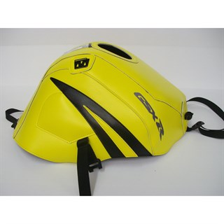 Bagster Tank cover GSX 600R / GSX 750R - lemon / black triangle