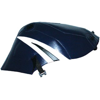 Bagster Tank cover GSX 600R / GSX 750R - dark blue / white and black triangle