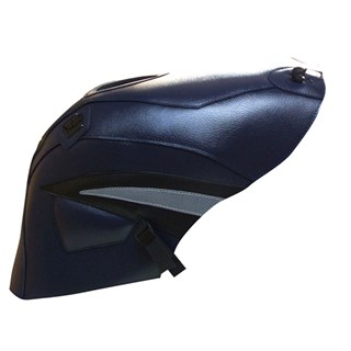 Bagster Tank cover GSX 600R / GSX 750R - dark blue / black / steel grey