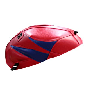 Bagster Tank cover CBR 1000RR FIREBLADE - red / china blue triangle