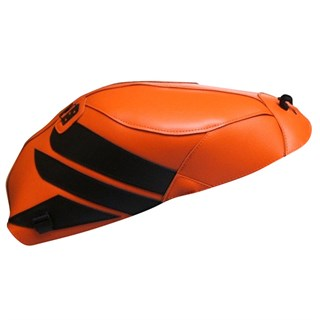 Bagster Tank cover CBR 1000RR FIREBLADE - repsol orange / black triangle
