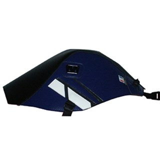 Bagster Tank cover XT 660 R / XT 660 X - black / baltic blue / anthracite and white deco