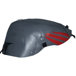 Bagster Tank cover RSV MILLE / RSV MILLE R / RSV MILLE R FACTORY / 1000 TUONO / 1000 TUONO FACTORY - steel grey / persico deco / anthracite