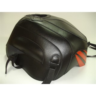 Bagster Tank cover RSV MILLE / RSV MILLE R / RSV MILLE R FACTORY / 1000 TUONO / 1000 TUONO FACTORY - black / persico deco / anthracite