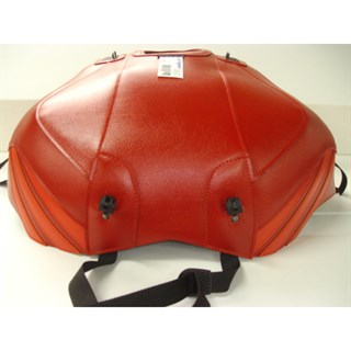 Bagster Tank cover RSV MILLE / RSV MILLE R / RSV MILLE R FACTORY / 1000 TUONO / 1000 TUONO FACTORY - red / persico deco / anthracite