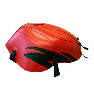 Bagster Tank cover RSV MILLE / RSV MILLE R / RSV MILLE R FACTORY / 1000 TUONO / 1000 TUONO FACTORY - red / black deco