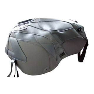 Bagster Tank cover RSV MILLE / RSV MILLE R / RSV MILLE R FACTORY / 1000 TUONO / 1000 TUONO FACTORY - sky grey / black / anthracite