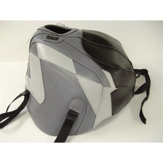 Bagster Tank cover RSV MILLE / RSV MILLE R / RSV MILLE R FACTORY / 1000 TUONO / 1000 TUONO FACTORY - black / steel grey / grey