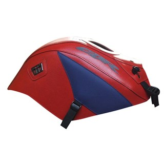 Bagster Tank cover CBR 125 / CBR 250 - red / china blue triangle