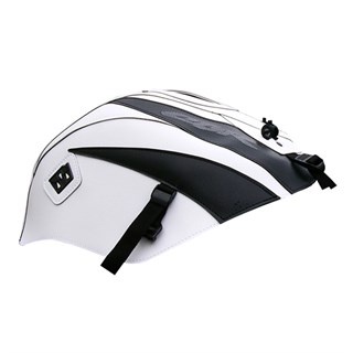Bagster Tank cover CBR 125 / CBR 250 - white / black