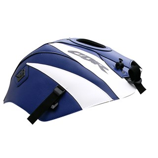 Bagster Tank cover CBR 125 / CBR 250 - baltic blue / white triangle