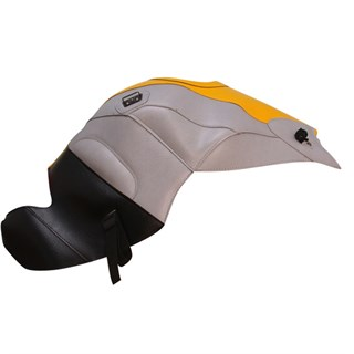 Bagster Tank cover K1200 S / K1300 S - buttercup yellow / light grey / black