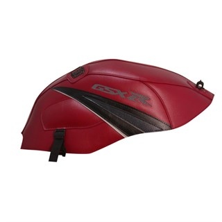Bagster tank cover GSX 1000R - light claret / black / anthracite / light grey