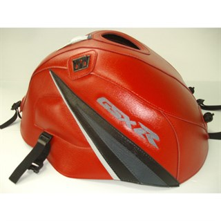 Bagster Tank cover GSX 1000R - red / black / anthracite / light grey