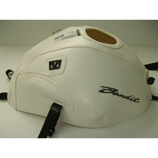 Bagster Tank cover GSF 650 BANDIT / GSF 650 BANDIT S / GSF 1250 BANDIT / GSF BANDIT S - white