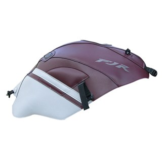 Bagster Tank cover FJR 1300 - dark claret / light grey