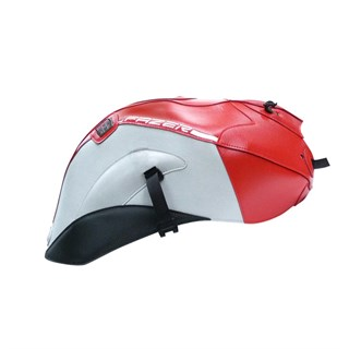 Bagster Tank cover FZ1 S FAZER - red / grey / carbon