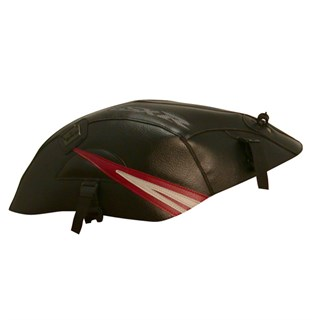 Bagster Tank cover GSX 600R / GSX 750R - black / light claret / grey