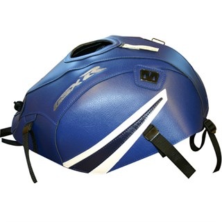 Bagster Tank cover GSX 600R / GSX 750R - blue / white / dark blue